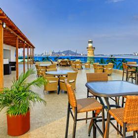 Terrazas - Servicios Club Naval - Cartagena