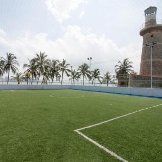 Cancha sintética de Fútbol - Club Naval de Cartagena